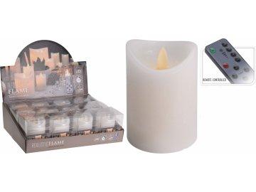 LED svíčka 10 cm s ovladačem