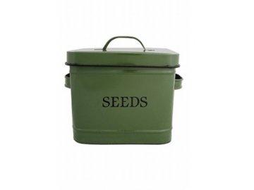 Dóza na semena zelená 24x16,5x17,6cm