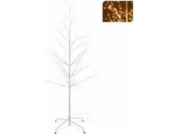 Svítící strom bílý  150 cm 510 LED