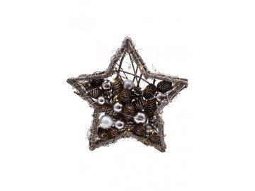 Svítící hvězda s šiškami