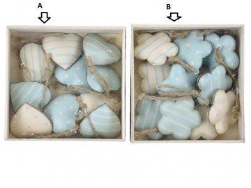 Srdíčka, kytičky box varianty