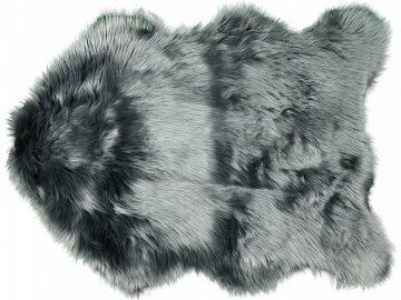 Chlupatý kobereček šedý