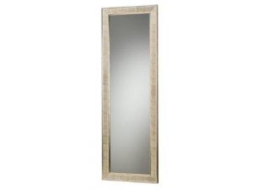 Zrcadlo s dřevěným rámem 50x150cm