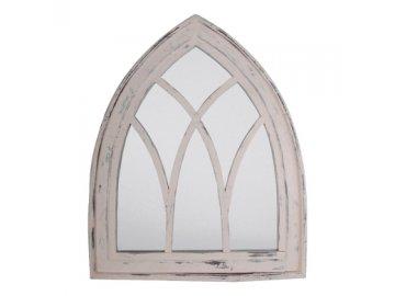 Zrcadlo dřevěná patina 66x4,8x80cm