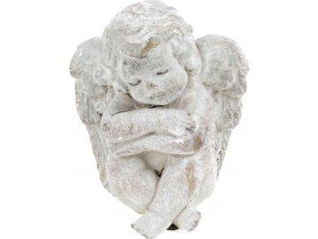 Anděl, betonová dekorace