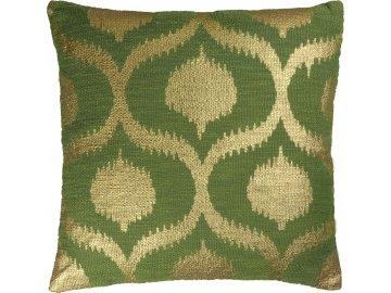 Dekorační polštář Sissy avokádově zelený