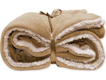 Zimní deka Lars medová