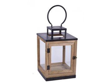 EGO 430014; lucerna vysoká, hranatá, 25x25x40,5cm