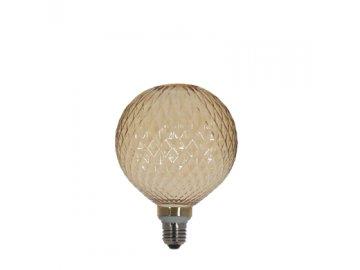 ZED 1023498; kryt na svítidlo kulatý, skleněný, pr.12,8cm