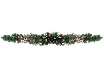 Vánoční dekorace z větví