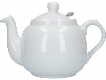 Čajová konev bílá London Pottery