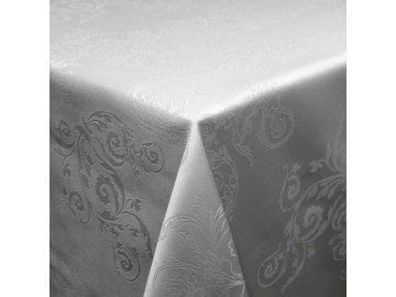 Elegantní ubrus Karlijn šedý velký
