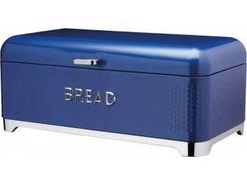 Plechová dóza na chleba Lovello modrá