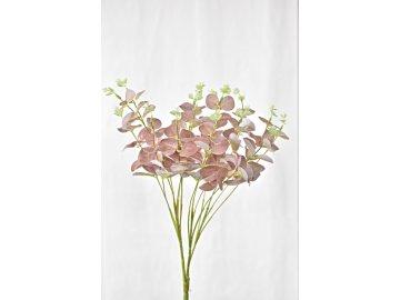 Umělý eukalyptus 47 cm, růžový