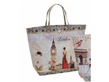 Papírová taška Londýn a Paříž | 2 druhy
