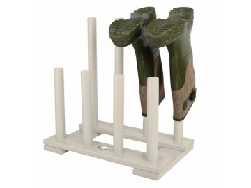 Dřevěný stojan na boty