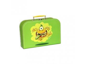 Dětský kufřík Příšerky zelený 25cm