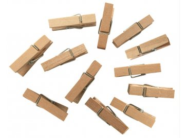 Kolíčky dřevěné 4 cm SADA 12ks