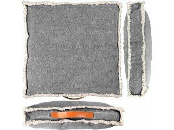 Vysoký podsedák Manouk tmavě šedý