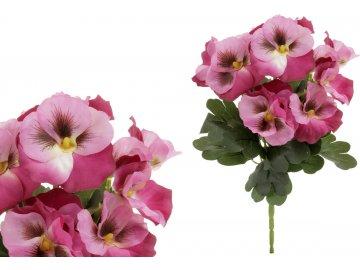 Puget macešek, barva lila.