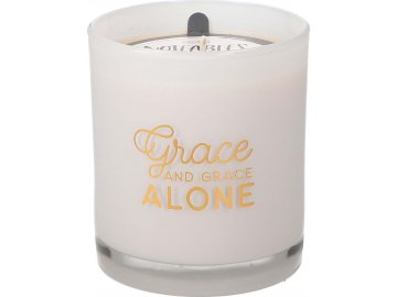 Noteables Candle Grace Alone