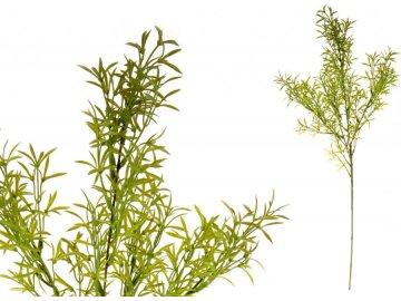 Asparágus, barva zelená, umělá květina plastová