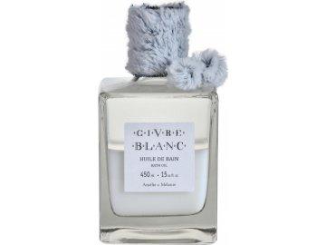 Francouzský olej do koupele Givre Blanc