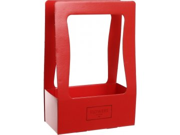 Flower box taška - červená