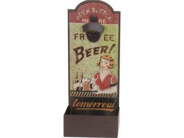 Otvírák lahví Free beer ...