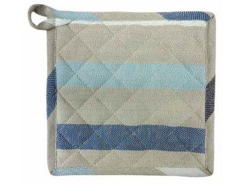 Textilní podložka Shanti stripe modrá