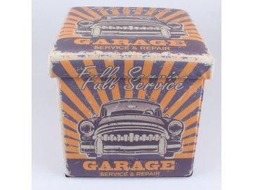 Skládací taburet | Full service garage