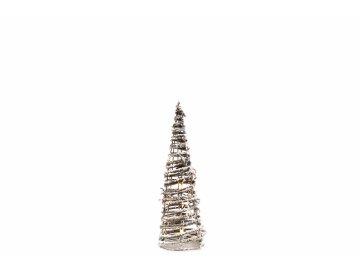Vánoční jehlan LED 40 cm