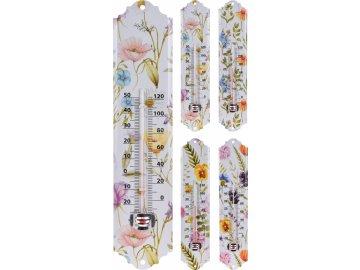 Teploměr Flowers 29,5 cm