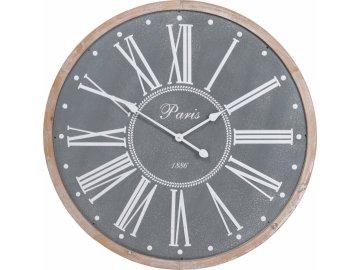 Plechové hodiny PARIS 80 cm