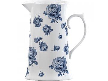 Porcelánový džbán   Vintage Indigo   19x15x10cm