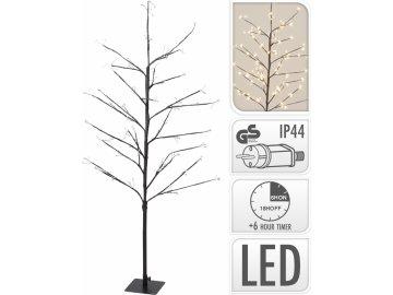 Dekorativní svítící strom 120 cm, 240 LED, teplá bílá