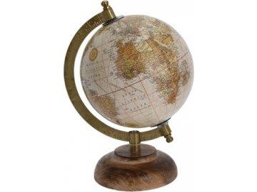 Otočný globus hnědý