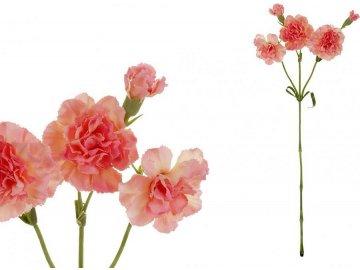 Minikarafiát, barva růžová. Květina umělá.