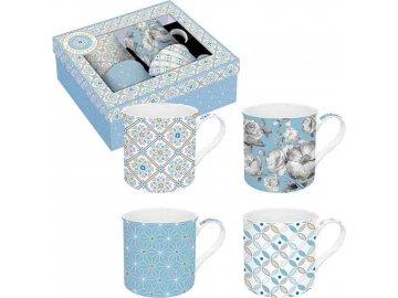 Porcelánové hrnky Light Blue