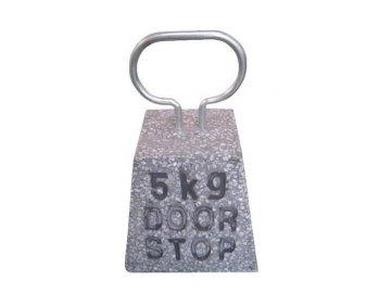 Zarážka na dveře kámen světle šedý 15x15x23,6cm