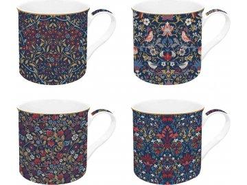 Sada porcelánových hrnků Floral Chintz
