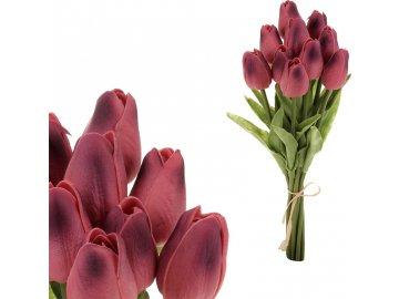 Mini tulipán, barva fialová. Materiál pěna. Cena za 1 kus, ve svazku je 10 kusů, ve svazku je 10 kusů.