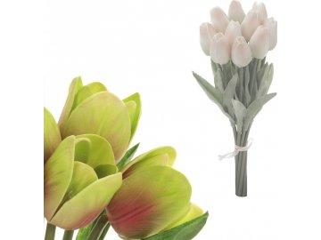 Mini tulipán, barva fialovo-zelená. Materiál pěna. Cena za 1 kus, ve svazku je 10 kusů.