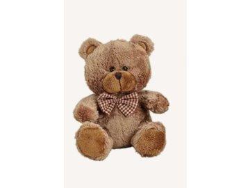 Plyšový medvěd 16 cm, hnědý
