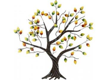 Strom kovový na zeď