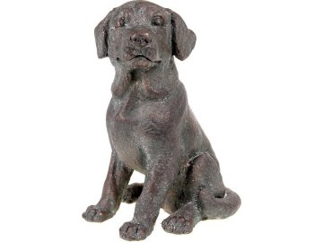 Pes, dekorace z MgO keramiky