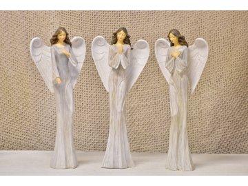 Anděl Rumia 39,5 cm, mix druhů