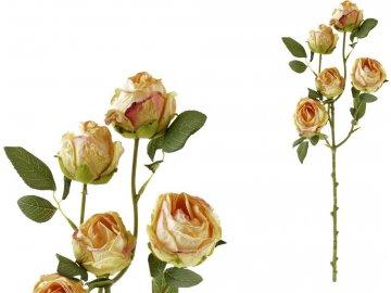 Růže, umělá květina, barva žlutá