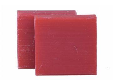 Mýdlo čtvercové   granátové jablko   35g