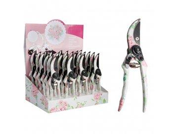 Zahradní nůžky Růžový květ 20,4x27,5x33,6cm